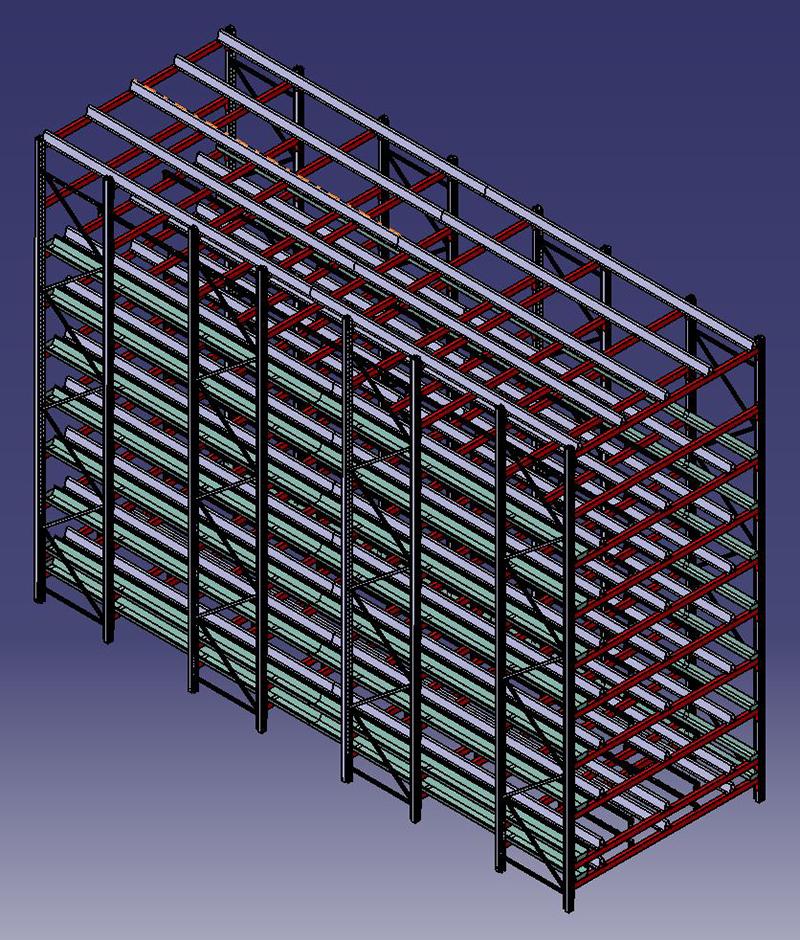 Kerrosviljelylinjaston 3D-mallinnus