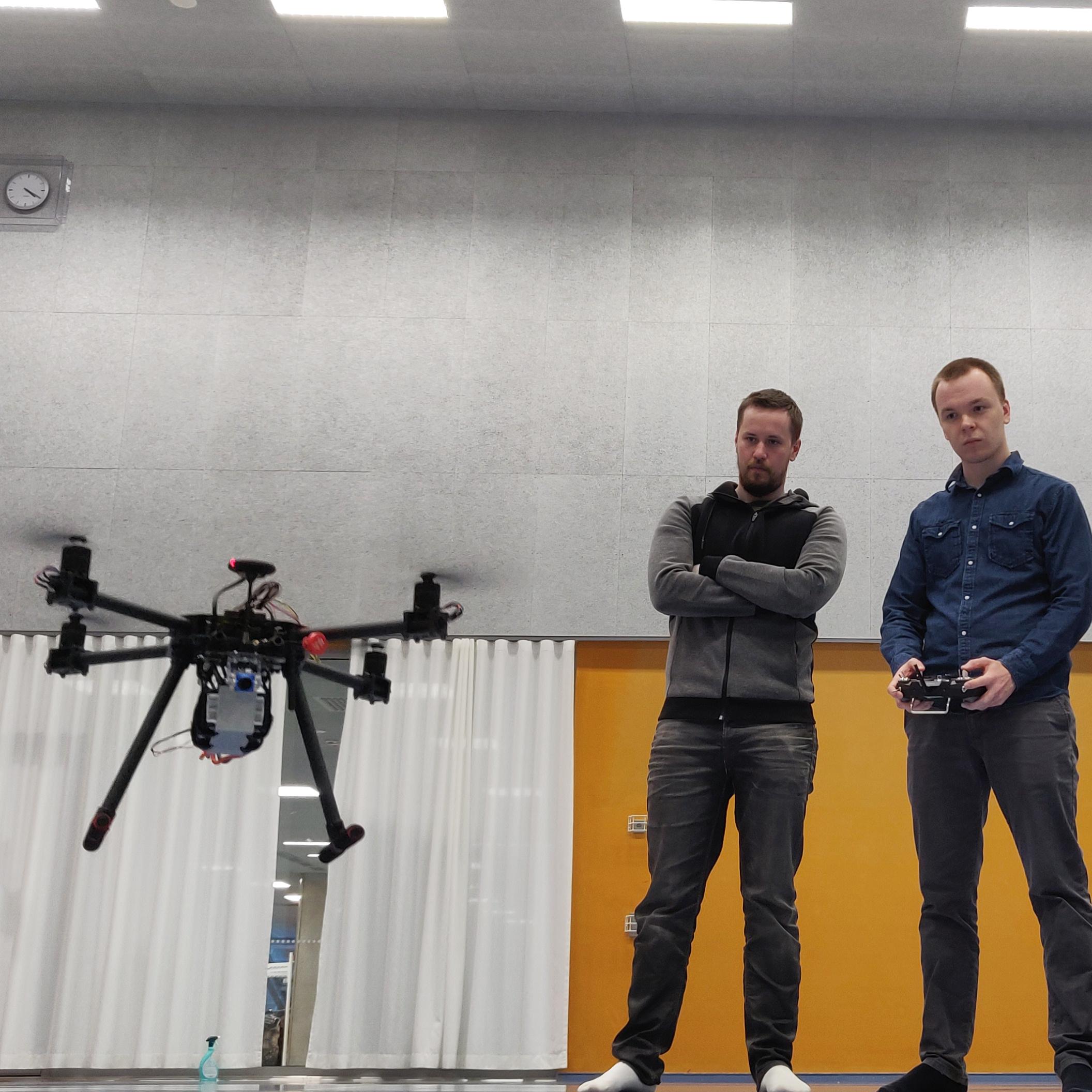 Dronen ensilento
