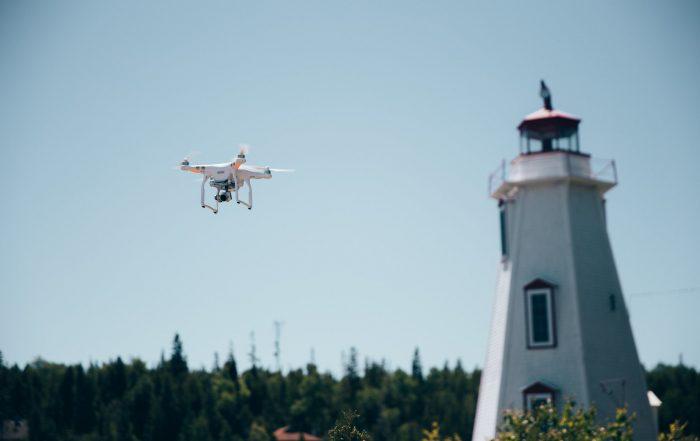 Taivas rajana drone
